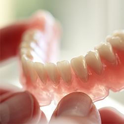 Full traditional remvoable denture