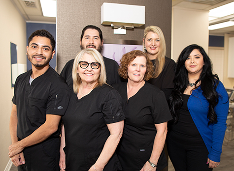The Glow Family Dental team